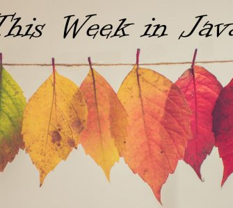 This week in Java #1